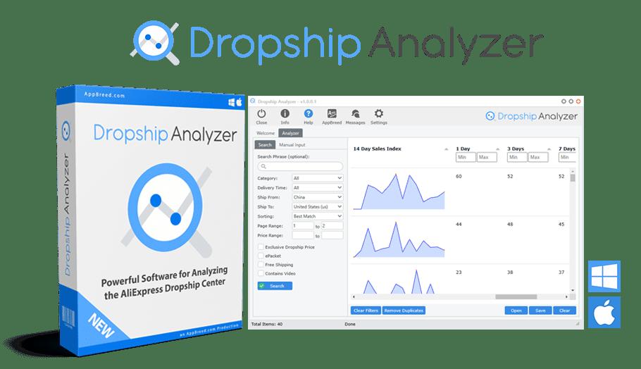 dropship analyzer tools
