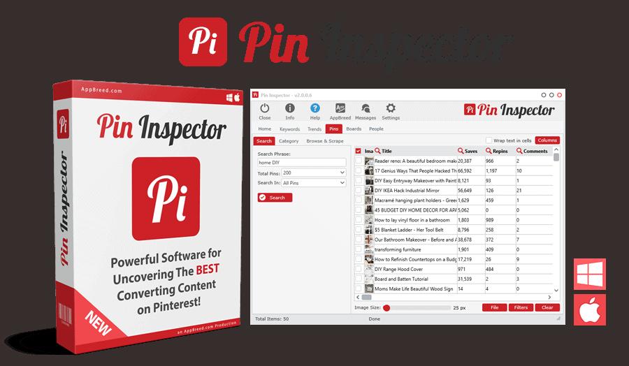 pin inspector software